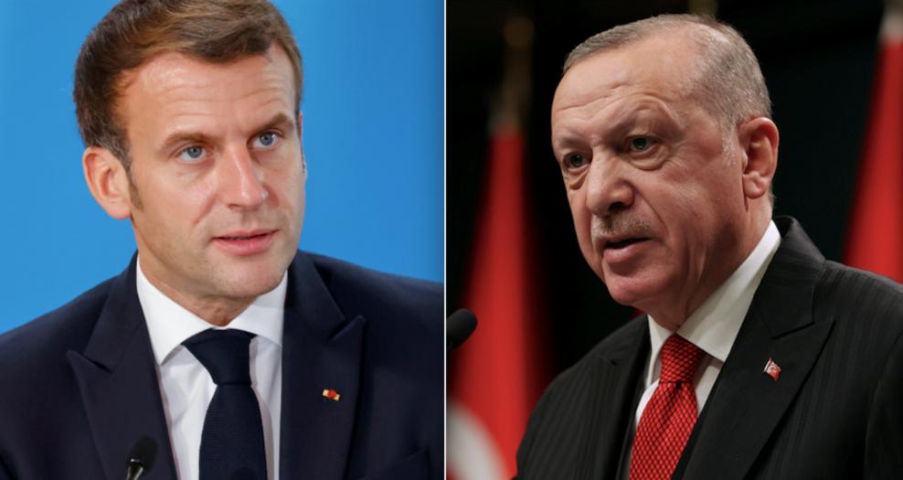 """Macron bersiva Erdoğan da: """"Heqaret rêbazeka rast nîne"""""""
