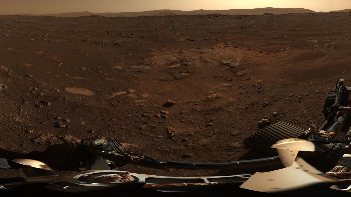 Perseverance weneyekî herî zelal yê Marsê şand