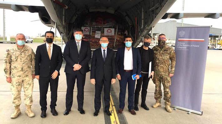 Polonya alîkariya bijîşkî da Herêma Kurdistanê