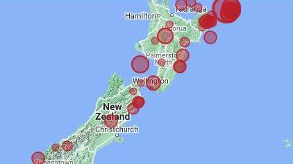 Li Zelanda Nû bi pileya 7,3 erdhej çêbû