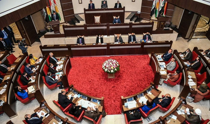 Serokatiya Parlamentoyê bi berpirsên dezgehên hilbijartinê re dicive