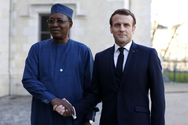 Macron, bo merasima cenazeyê İdriss Itno diçe Çadê