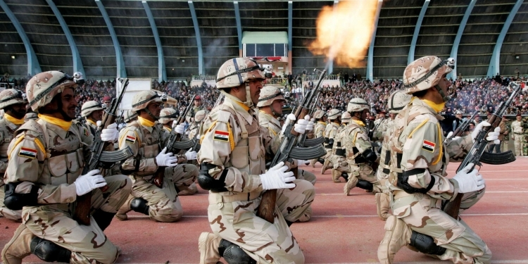 Fermandarê payebilind ê bere li Wezareta Berevaniya Iraqê can da