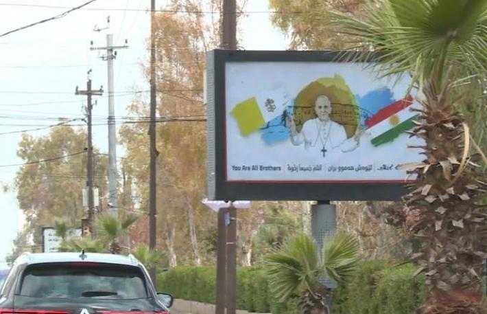 Rêveberê Enkawe: Hatina Papa bo Herêma Kurdistanê peyamek e...