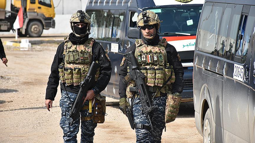Dezgeha Dije-Terorê ya Iraqê pênc çekdarên DAIŞê desteser kirin