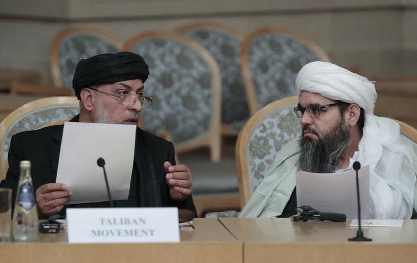 Hukumeta Afxanistanê û Talîban li Qatarê civiyan