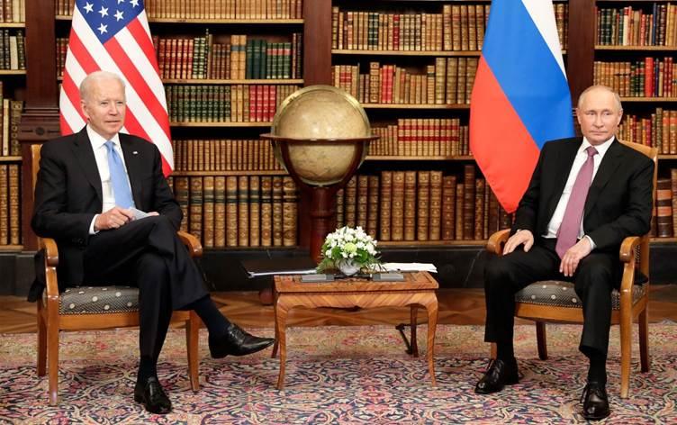 Piştî civîna Putin-Biden li Cenewreyê qediya, encamnameyê belavkirin