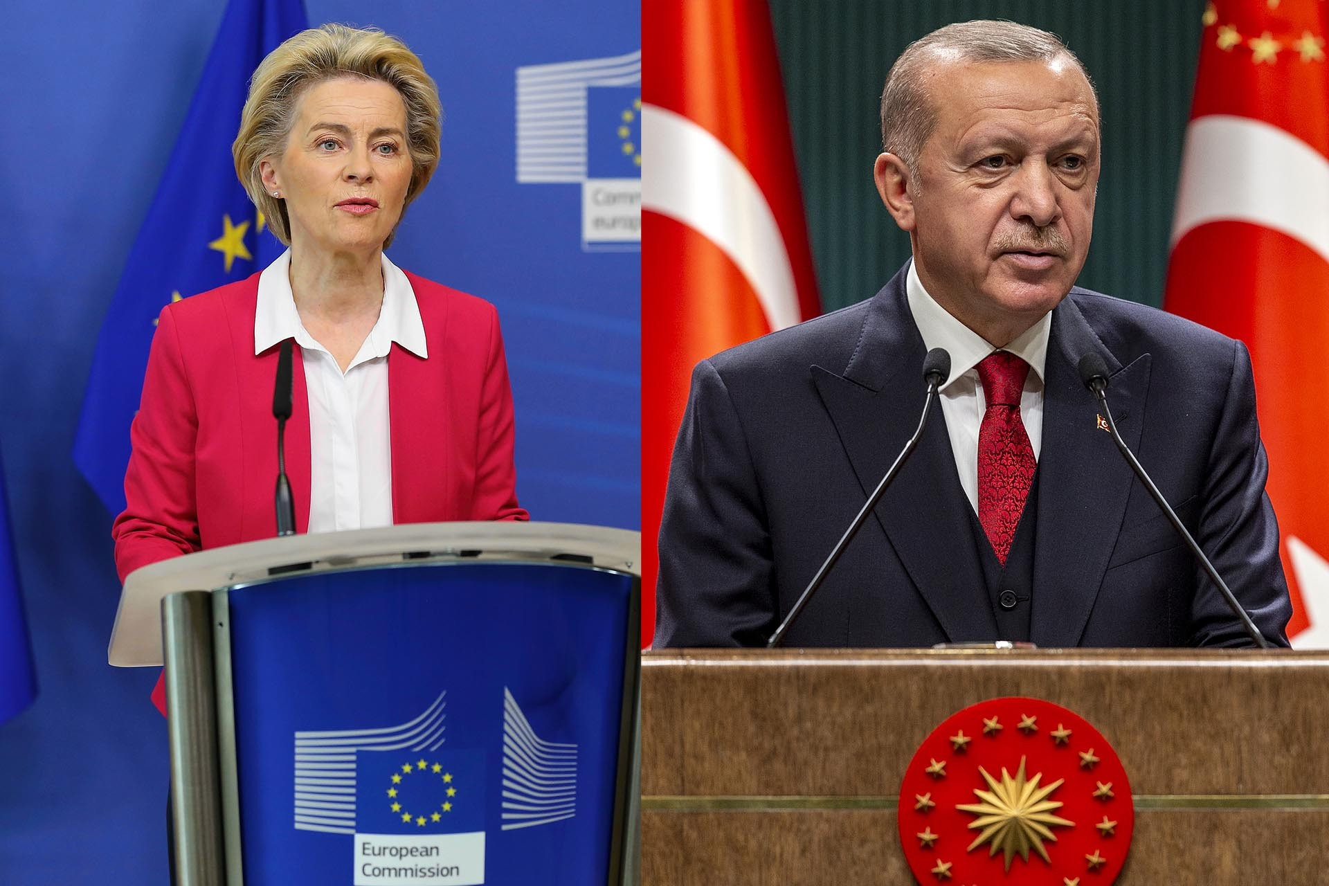 Erdoğan bi Leyen re axifî û got: Dor ya YA ye