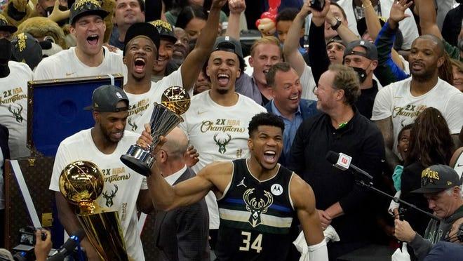 Milwaukee Bucks piştî 50 salan cara yekem bû şampiyonê NBAyê