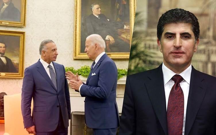 Nêçîrvan Barzanî li ser Diyaloga Stratejîk ya Iraq-Amerîkayê peyam da