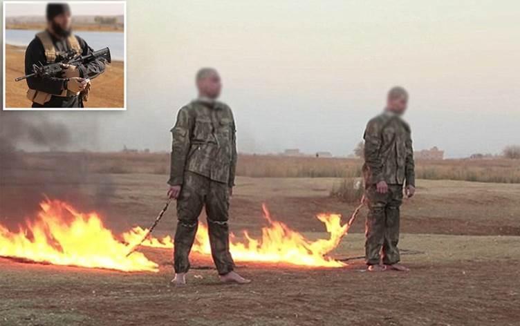Qadiyê IŞİD ê 2 leşkerên Tirk şewitandibû hatibû berdan lê car din hat girtin