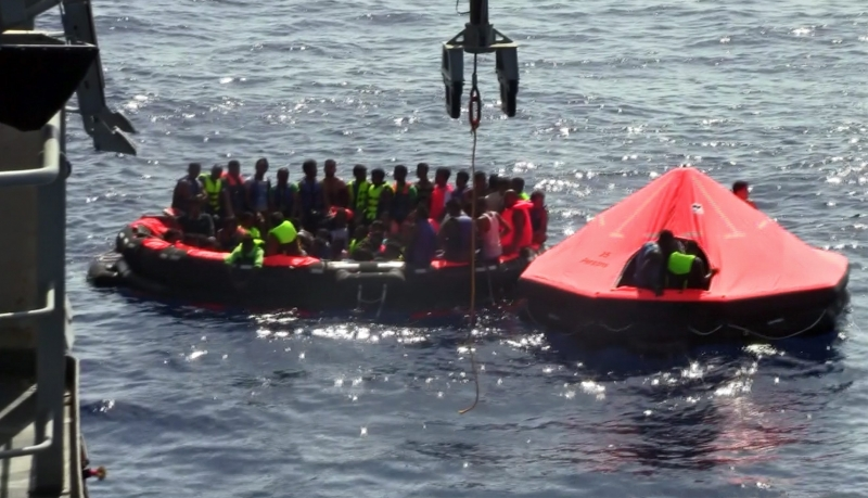 Li girava Gîrîdê tekneya koçberan noqav bû û piraniya koçberan Kurd in