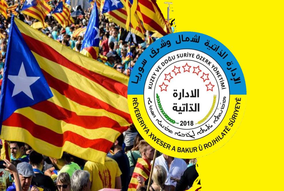 Rêveberiya Xweser: Em spasiya dostên xwe li Herêma Katalonyayê dikin