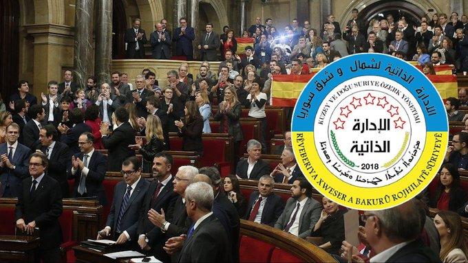 Parlamentoya Katalonyayê bi fermî Rêveberiya Xweser nas kir