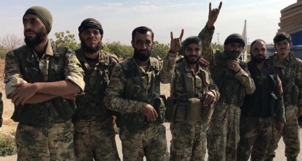 Ülkücü işareti yapan ÖSO'lular Qamışlo sınırına sevk edildi!