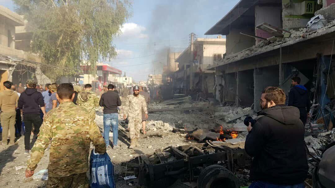 Rojava   Girê Spî'de bombalı saldırı!