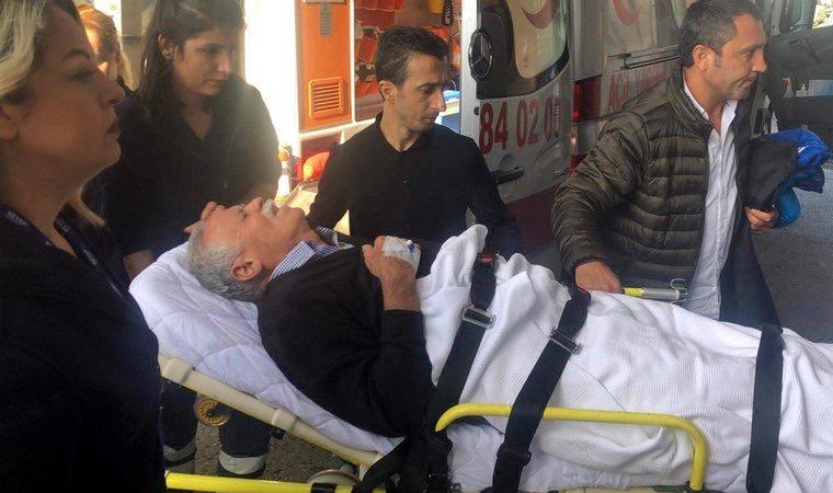 Demirtaş'ın ailesi trafik kazası geçirdi hasteneye kaldırıldılar