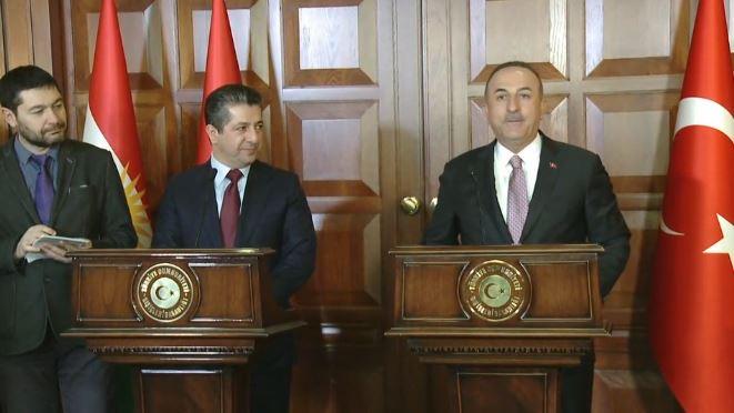 Başbakan Barzani Ankara'da önemli açıklamalarda bulunuyor