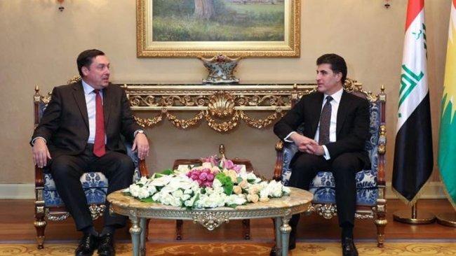 Neçirvan Barzani İngiliz Büyükelçi ile gündemi görüştü