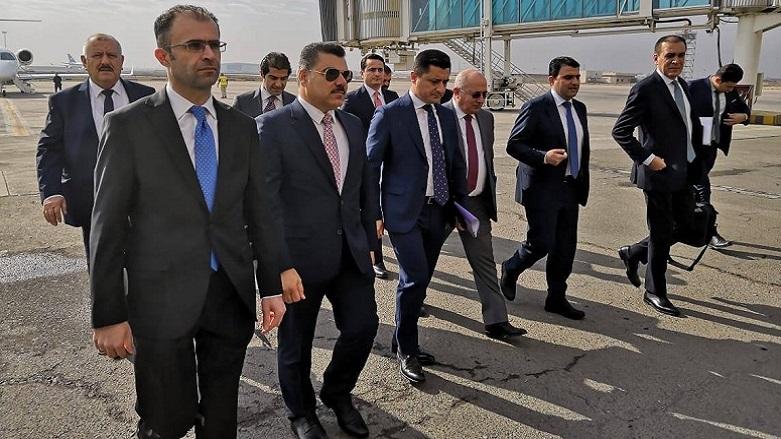 Kürdistan heyeti müzakereler için Bağdat'ta!