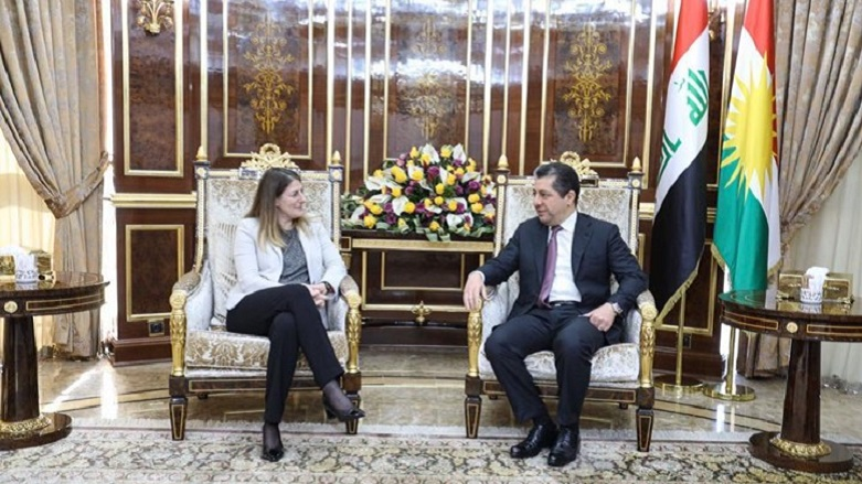 İngiltere'den Kürdistan Bölgesi'ne önemli destek
