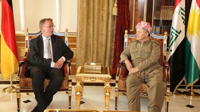 Başkan Barzani'den Almanya'ya: Uluslararası desteğe ihtiyacımız var