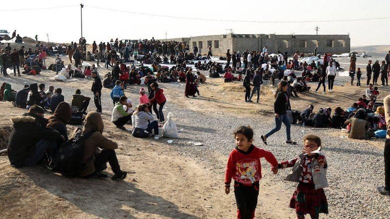 Kürdistan Bölgesi'ne Rojava'dan göç edenlerin sayısı 14 bini geçti