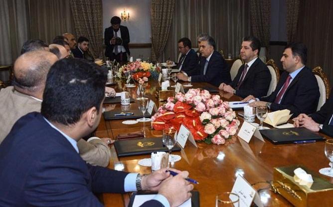 """Başbakan, """"Kürdistan'ın yasal ve meşru hakları desteklenmeli"""""""