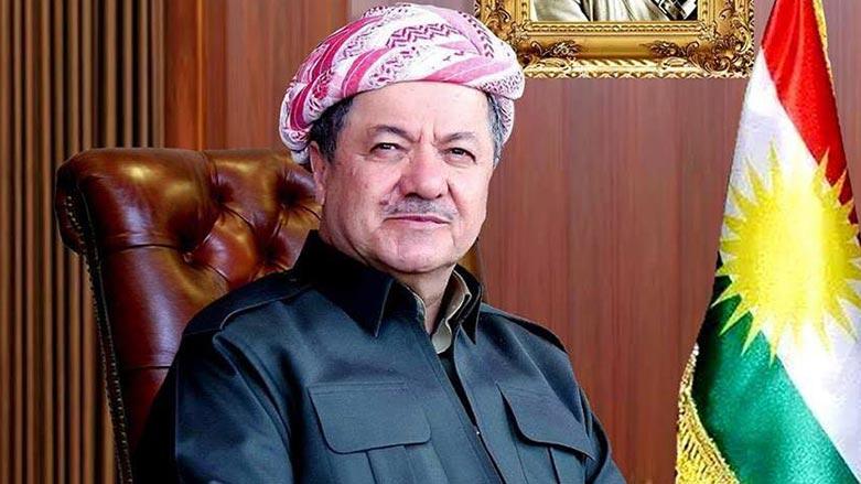 Başkan Mesud Barzani'den başsağlığı mesajı