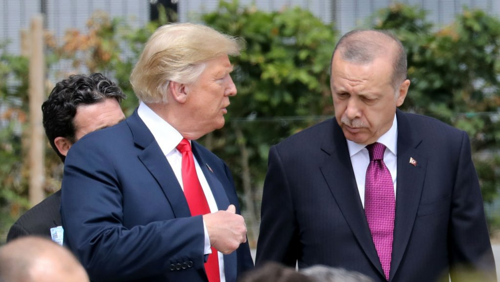 CNN Türk: Trump'ın Erdoğan'a yolladığı mektup çöpe atıldı