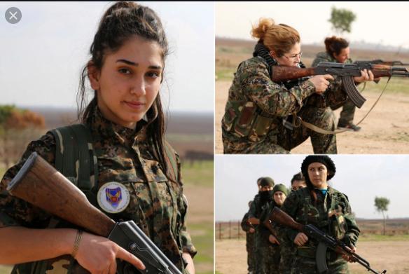 Kürt kadın savaşçılar, ÖSO-SMO'nun öncelikli hedefi