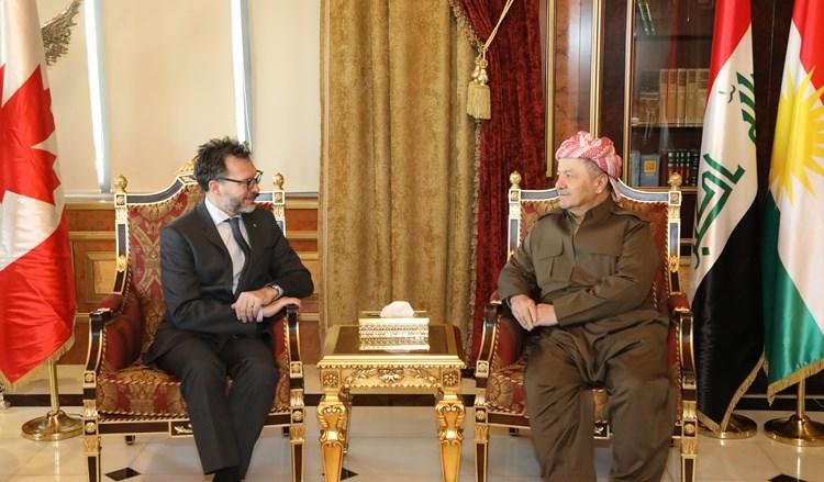 Kanada: Kürdistan'daki ilerleme ve istikrar etkileyici
