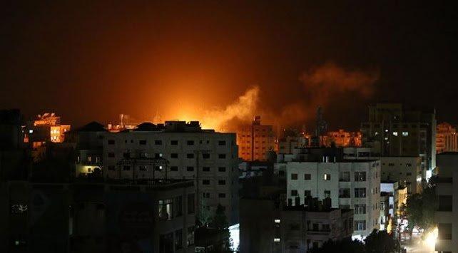 İsrail'den Gazze'ye hava saldırısı: Hedefler vuruldu