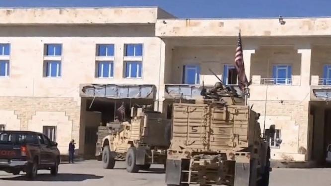 ABD güçleri Rojava ve Kürdistan Bölgesi sınırında devriye attı