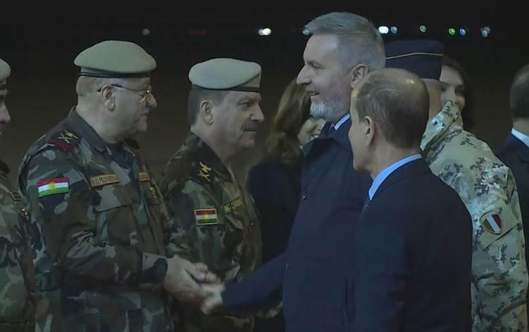 İtalya Savunma Bakanı başkent Erbil'de