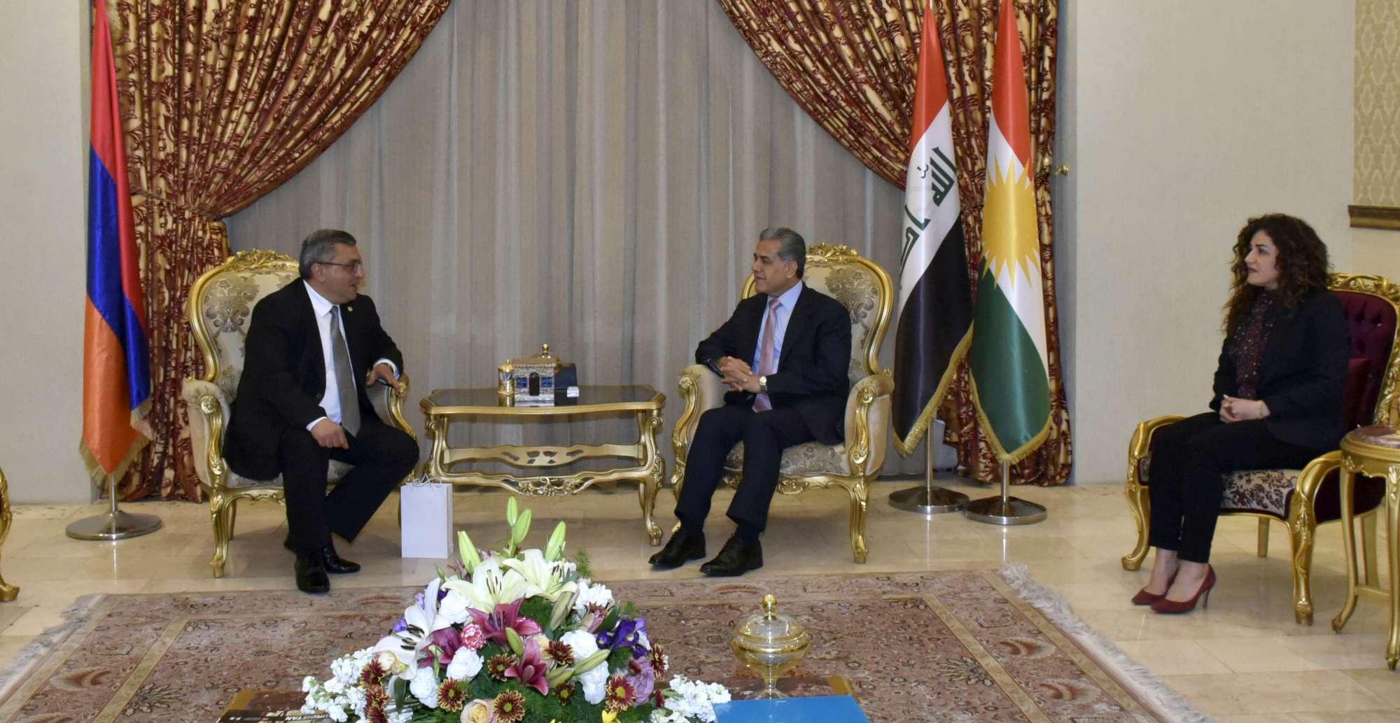 Ermenistan, Erbil'de Konsolosluk açacağını duyurdu