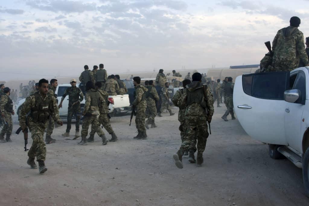 O ülke Irak'taki güçlerini Erbil'e taşıma kararı aldı