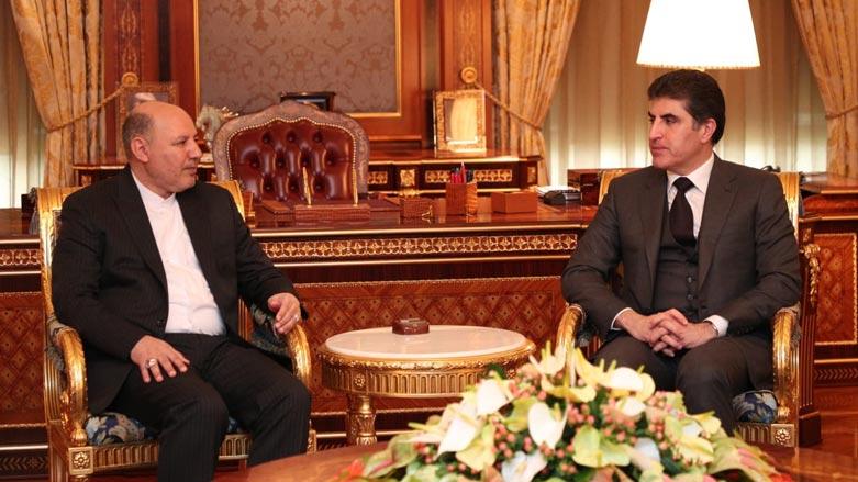 Neçirvan Barzani, İran Başkonsolosu ile Irak'ı görüştü