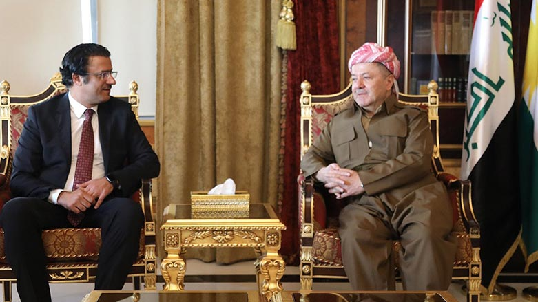 Başkan Barzani'den Erbil-Kuveyt dostluğuna vurgu