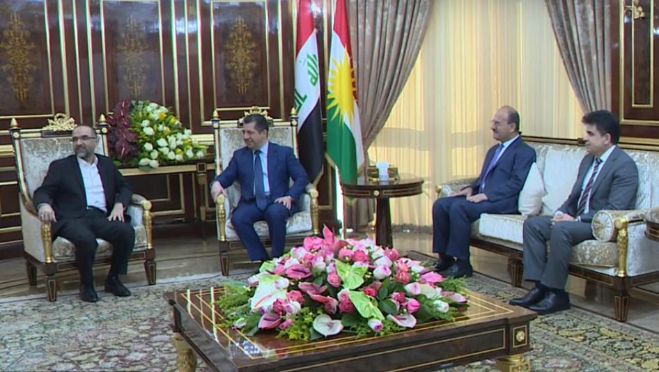 Başbakan Barzani: Kürt sorunu bölge için barışın temel faktörü
