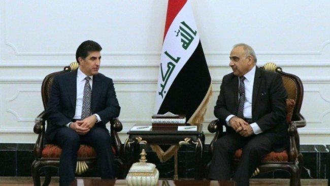 Başkan, Abdulmehdi ile reformlar çalışmalarını görüştü