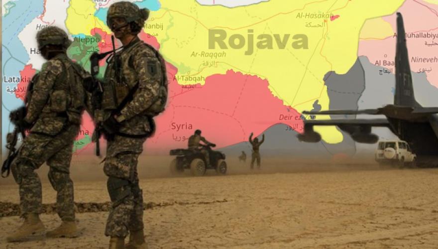 DSG ve rejim arasında Rojava'da bir ilk!
