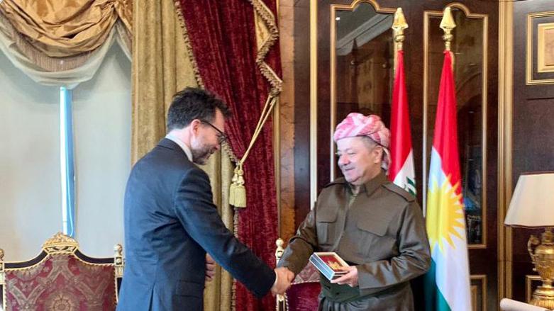 Kanada Büyükelçisi'nden dikkat çeken 'Serok Barzanî' paylaşımı