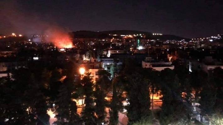 SANA: İsrail Suriye'ye 4 füze ateşledi