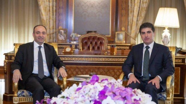 Neçirvan Barzani ve Osman Baydemir 'Siyasi birliği' görüştü
