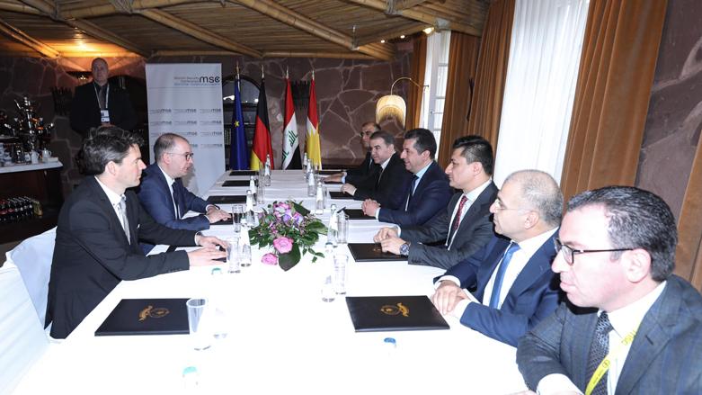 Münih   Başbakan Barzani, Niels Annen ile görüştü