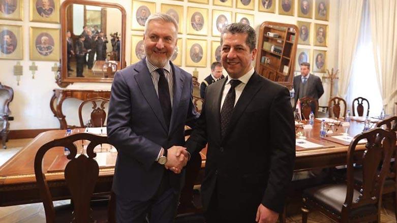 Başbakan Barzani, İtalya'da diplomatik temaslara devam ediyor