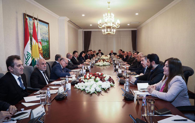 Erbil'de önemli toplantı: Ortak karar görüşülüyor