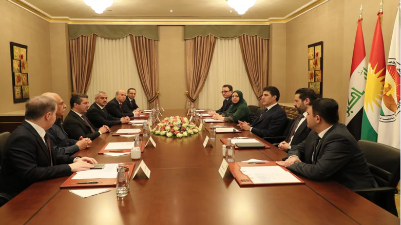 Başkent Erbil'de gelişmelere yönelik üst düzey toplantı