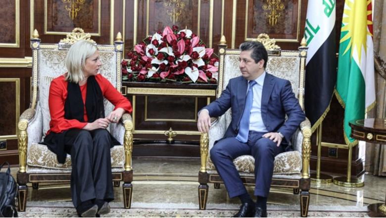 Başbakan Mesrur Barzani, BM kanadı ile Irak'ı görüştü